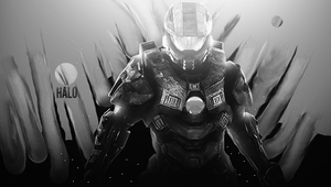 Halo BW by dOseeN