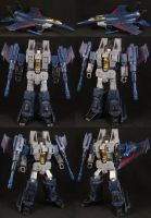 Custom Classics Thundercracker by Solrac333