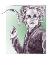 Rita Skeeter by Elezar81