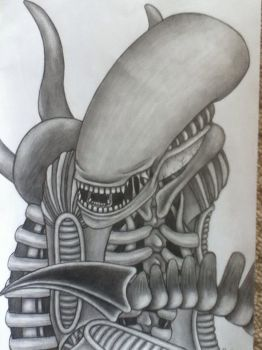 Xenomorph Alien by NoodleLizard