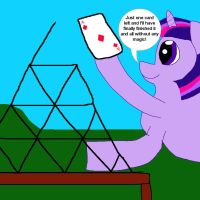 Twilight Sparkle's House of Cards by MasterYubel