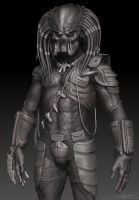 Predator - Zbrush WIP 22 by FoxHound1984