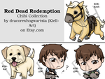 Chibi Collection - Red Dead Redemption by Kiell-Art