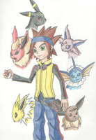 PkmnXD-Michael+Eeveelutions by VirusMetalGarurumon