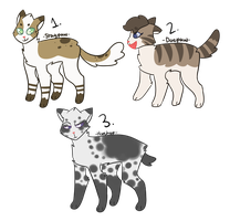 Warrior-Cats-Rise Adopts // Open by Queen-Badger