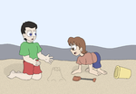 Patricktricks Commission- Sand Castles by Lance-the-young