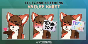 Telegram Stickers by PebblesRaven