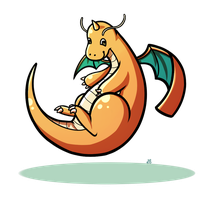 Pokeddexy Challenge Day 08 - Dragonite! by IncreasinglyCoherent