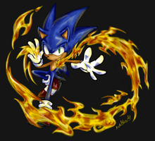 Burning Soul :: Auroblaze Collab by RiotaiPrower