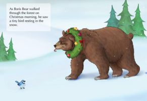 Christmas Bear Finished by UrsusArctos