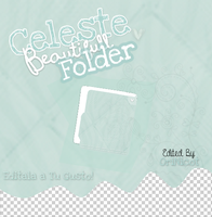 Celeste Beautifull Folder en .psd By OriNicot by OriNicot