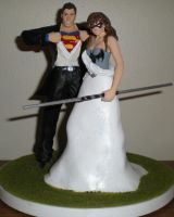 Zac and Amy Cake topper by future-trunks