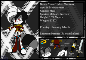 (OLD).:Reference sheet - Juan:. by sonicsilver12