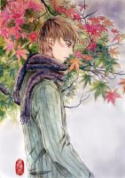 Philip in Autumn remake by squalljade