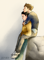 IwaOi hell by justvrit