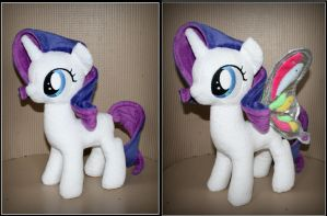 Rarity filly plush- My Little Pony by Lavim