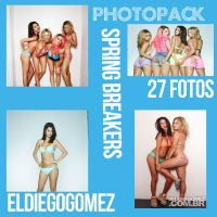 Photopack#1 Spring Breakers by ElDiegogomez