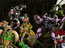 Beast Wars by DStevensArt