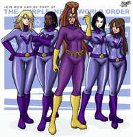 The Purple New World Order by Shabazik