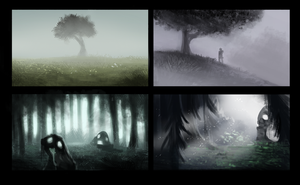 DAY 326 Sidhe - Thumbnails 2 by Cryptid-Creations
