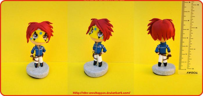 MCR fabulous killjoys - Chibi Party Poison figure by Nko-ennekappao