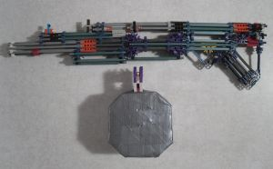MOW Hawk .34 - Knex Weapon by MadArtMan0817