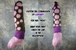 Custom Tail Commission by Luminary! For Yuki_Frost by OurMassHysteria