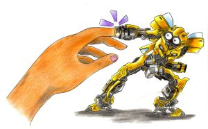 bumblebee by Justa124