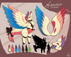 Larinia Ref Sheet by ShikkaTL
