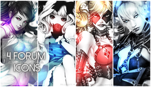 [4 FORUM ICONS] by MellisEdits