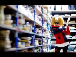 bad Harley Quinn by clefchan