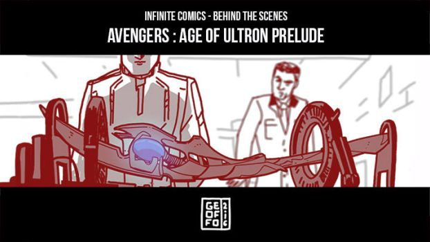Infinite Comics BtS Age of Ultron Prelude! by Geoffo-B