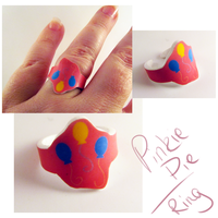 Pinky Pie Ring by sterlingsilver