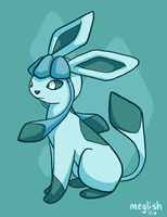 15 - Ice - Glaceon by meglish