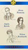 Afterrealm Sketch Portraits 1 by Allysdelta