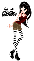 Gift:new oc hailee by shweetcupcake