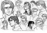 Flynn- Drafting By Glen Keane II by Frankh777