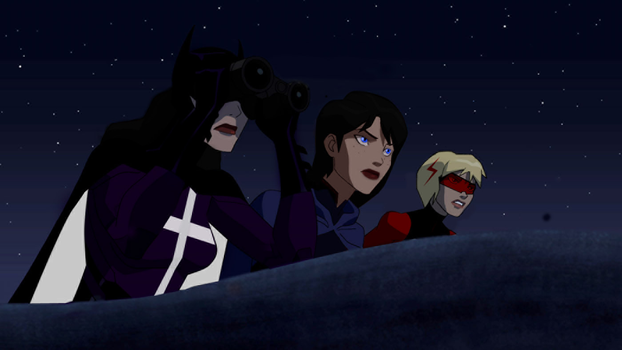 Three's a Party-Young Justice Legacy by MarvelJustice