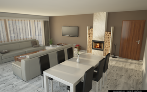 Living room 2013 v1 by slographic