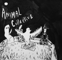 Animal Collective by LunarLuminosity