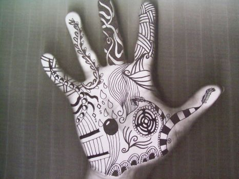 Hand print by ladystardust1847