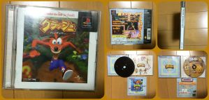 ( Crash Bandicoot ) Japanese NTSC-J Copy by KrazyKari