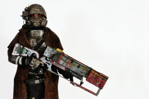 NCR Ranger Cosplay 05 - Ayacon 2011 by JayCosplay