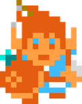 Link (The Breath of the Wild) - NES Style by MaikeruThePlayer