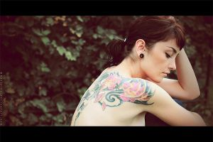 Girl with tattoo_II by Basistka