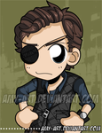 Walking Dead - The Governor by amy-art