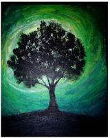 Cliche tree...good coloring by graphicnaturedesign