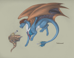Doctor Who Dragon by Imbecamiel