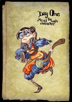 30 Day RPG Challenge -- Day One by mazosia