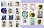 MY SOCIETY6 STORE AND NEW ITEMS! by Arya-Aiedail